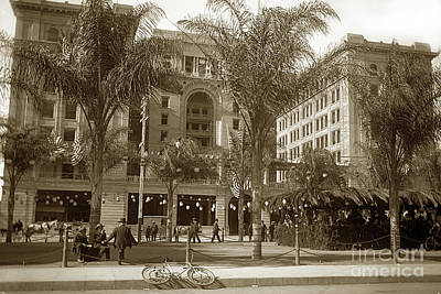 Photograph - U.s. Grant Hotel, San Diego Built In 1905 At 326 Broadway San Di by California Views Archives Mr Pat Hathaway Archives
