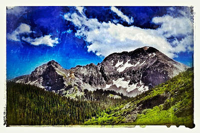 Digital Art - U. S. Grant Peak by Dan Miller