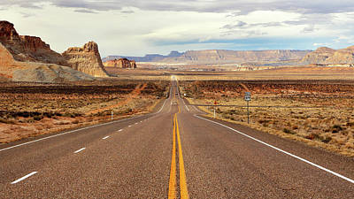 Photograph - Us Highway 89 by Nicholas Blackwell