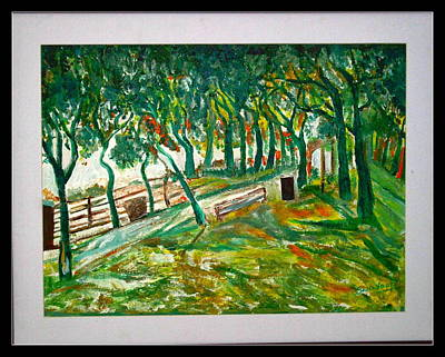 Painting - Us Landscpe-17 by Anand Swaroop Manchiraju