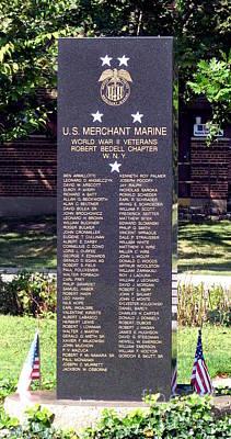Photograph - Us Merchant Marines Memorial Buffalo New York by Rose Santuci-Sofranko