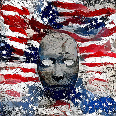 Digital Art - Us National Colors by Bruce Rolff