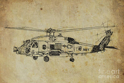 Us Navy 710 Art Print by Pablo Franchi