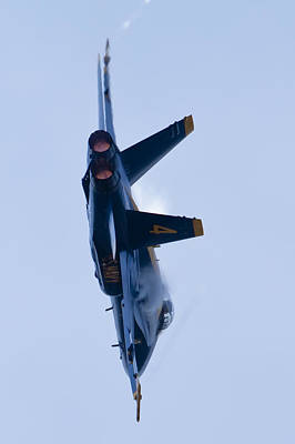Hornets Photograph - Us Navy Blue Angels High Speed Turn by Dustin K Ryan