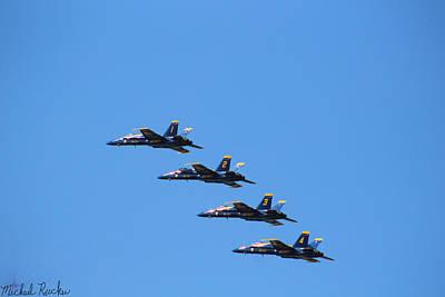 Photograph - U.s. Navy Blue Angels by Michael Rucker