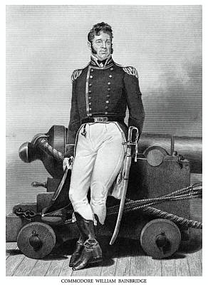 Painting - Us Navy Commodore William Bainbridge by Historic Image
