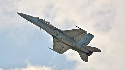 Photograph - Us Navy F/a 18 Super Hornet by Carol Bradley