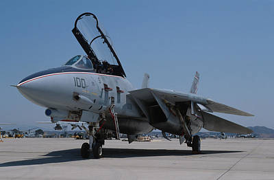 Photograph - Us Navy Grumman F-14 Tomcat by John Clark