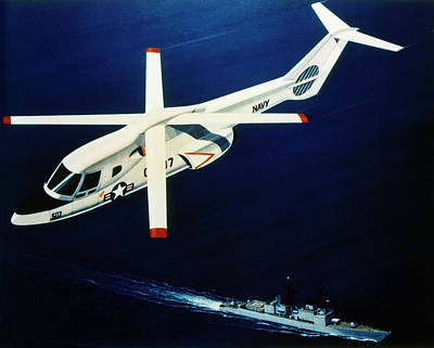 Photograph - Us Navy Helicopter by Granger