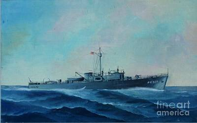 Photograph - Us Navy Ship Pc577 by John Black