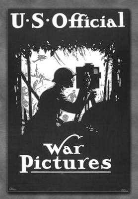 Photograph - Us Official War Poster 1917 by Carlos Diaz