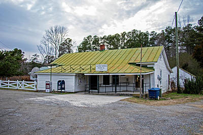 Photograph - Us Post Office In Foster by Jean Haynes