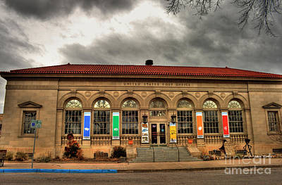 Photograph - Former Canon City Us Post Office by Tony Baca