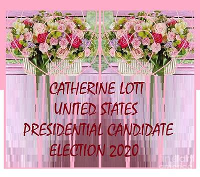 Painting - Us President Election 2020 Candidate Catherine Lott by Catherine Lott