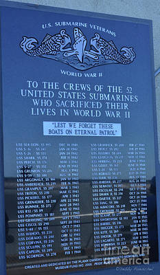Photograph - U.s. Submarine Veterans by Debby Pueschel