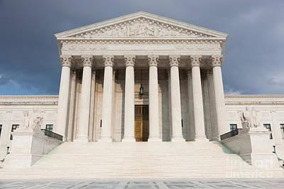 Us Supreme Court Building V Art Print