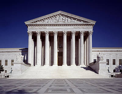 Photograph - U.s. Supreme Court by Carol Highsmith