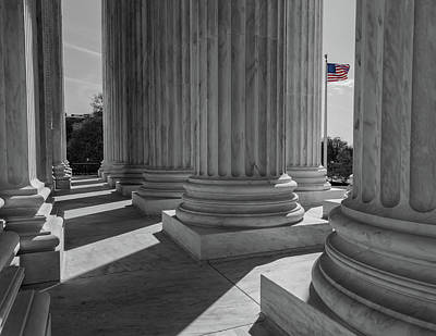 Photograph - Us Supreme Court by Jonathan Nguyen