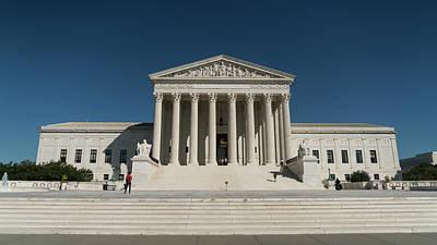 Photograph - Us Supreme Court Washington Dc by Lawrence S Richardson Jr
