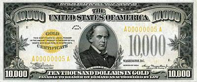 U.s. Ten Thousand Dollar Bill - 1934 $10000 Usd Treasury Note Original