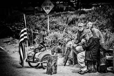 Photograph - U.s. Veterans Today by Patrick Boening