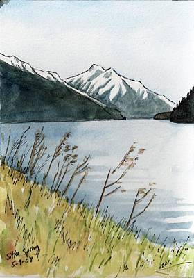 Sitka Painting - Usa - Alaska - Sitka Spring by Michael Liebhaber
