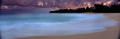 Tropical Storm Photograph - Usa, Hawaii, Kauai, Haena Beach, Storm by Panoramic Images