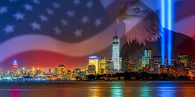 Photograph - Usa Land Of The Free by Susan Candelario