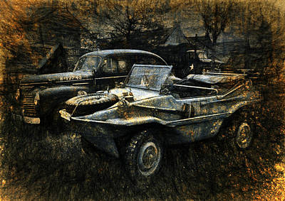 Digital Art - Usa Remains Of The War by Karo Evans