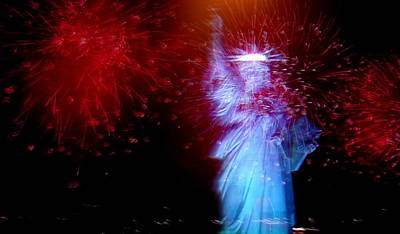 Photograph - Usa - Statue Of Liberty by Jacqueline M Lewis