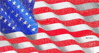 Digital Art - Usa Usa Usa by Rafael Salazar