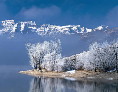 Usa, Utah, Deer Creek State Park Art Print by Panoramic Images