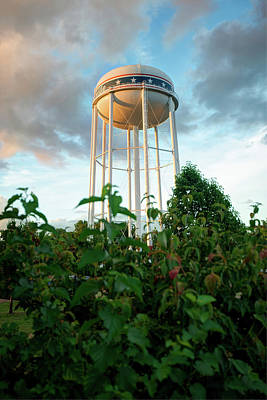 Photograph - Usa Water Tower by Gregory Ballos