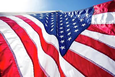 Usa,american Flag,rhe Symbolic Of Liberty,freedom,patriotic,hono Art Print