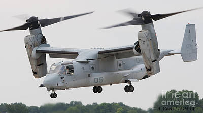 Photograph - Usaf Boeing V-22 Osprey by Antoine Roels