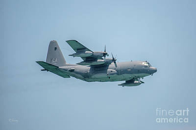 Photograph - Usaf C-130 Hercules Aircraft by Rene Triay Photography