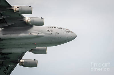 Photograph - Usaf C-17 Globemaster Aircraft by Rene Triay Photography