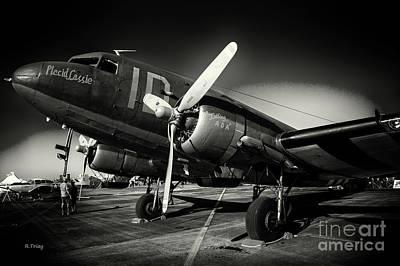 Usaf C-47 Viii Art Print by Rene Triay Photography