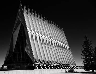 Photograph - U. S. A. F. Academy Cadet Chapel by Rand