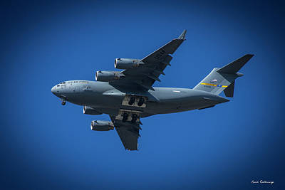 Photograph - Usaf Lockheed C 5 Galaxy Airlifter Airplane Art by Reid Callaway