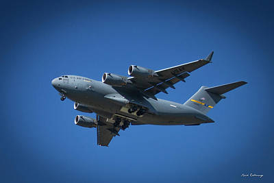Photograph - Usaf Lockheed C 5 Galaxy Too Airlifter Airplane Art by Reid Callaway