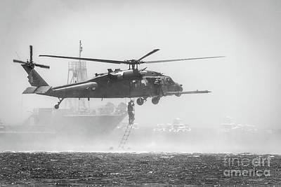 Photograph - Usaf Pararescue Sar Rescue by Rene Triay Photography