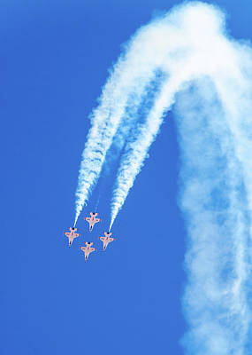 Photograph - Usaf Thunderbirds At Amigo Airsho by Steven Green
