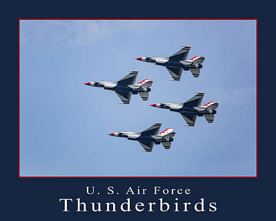Photograph - Usaf Thunderbirds by Dale Kincaid