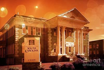 Mixed Media - Usc Union South Carolina 2 by Bob Pardue