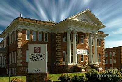 Photograph - Usc Union South Carolina by Bob Pardue