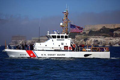 Photograph - Uscg Hawksbill Patrols San Francisco Bay During Fleet Week by John King