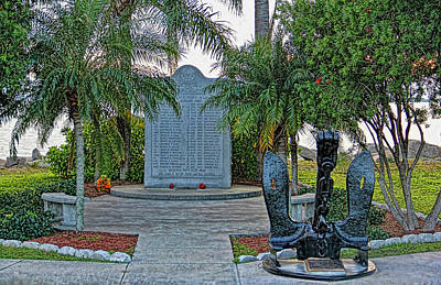 Photograph - Uscgc Blackthorn Memorial by HH Photography of Florida
