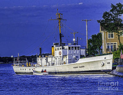Photograph - Uscgc Mclane  by Nick Zelinsky