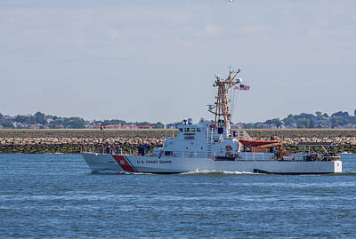Uscgc Rush Photograph - Uscgc Tybee Wpb 1330 by Brian MacLean